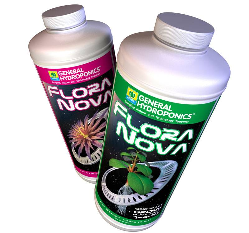 Комплекс удобрений Flora Nova (Grow+Bloom)