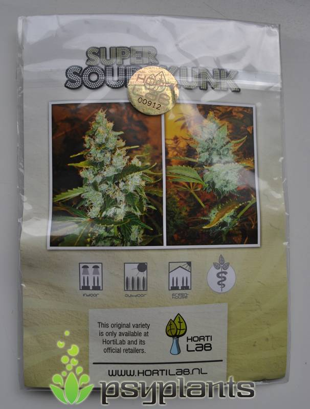 Super Sour Skunk (Hortilab Seeds) - 10 reg.